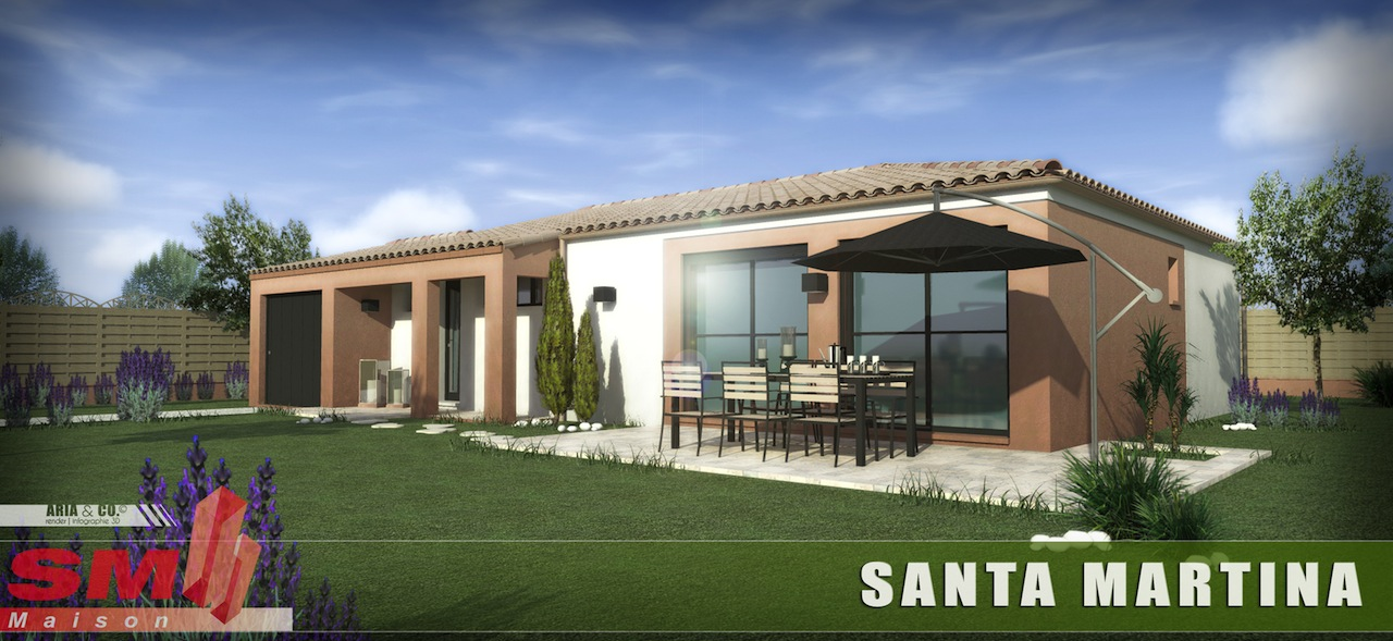 Maisons + Terrains du constructeur SM 11 • 95 m² • CRUSCADES