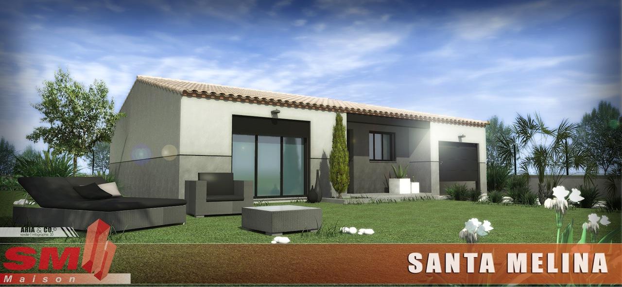 Maisons + Terrains du constructeur SM 11 • 90 m² • CANET