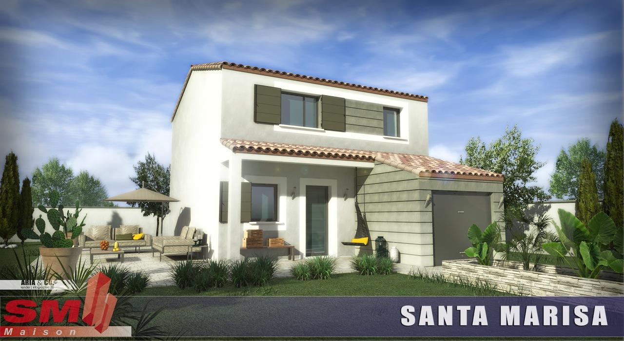 Maisons + Terrains du constructeur SM 11 • 90 m² • NARBONNE