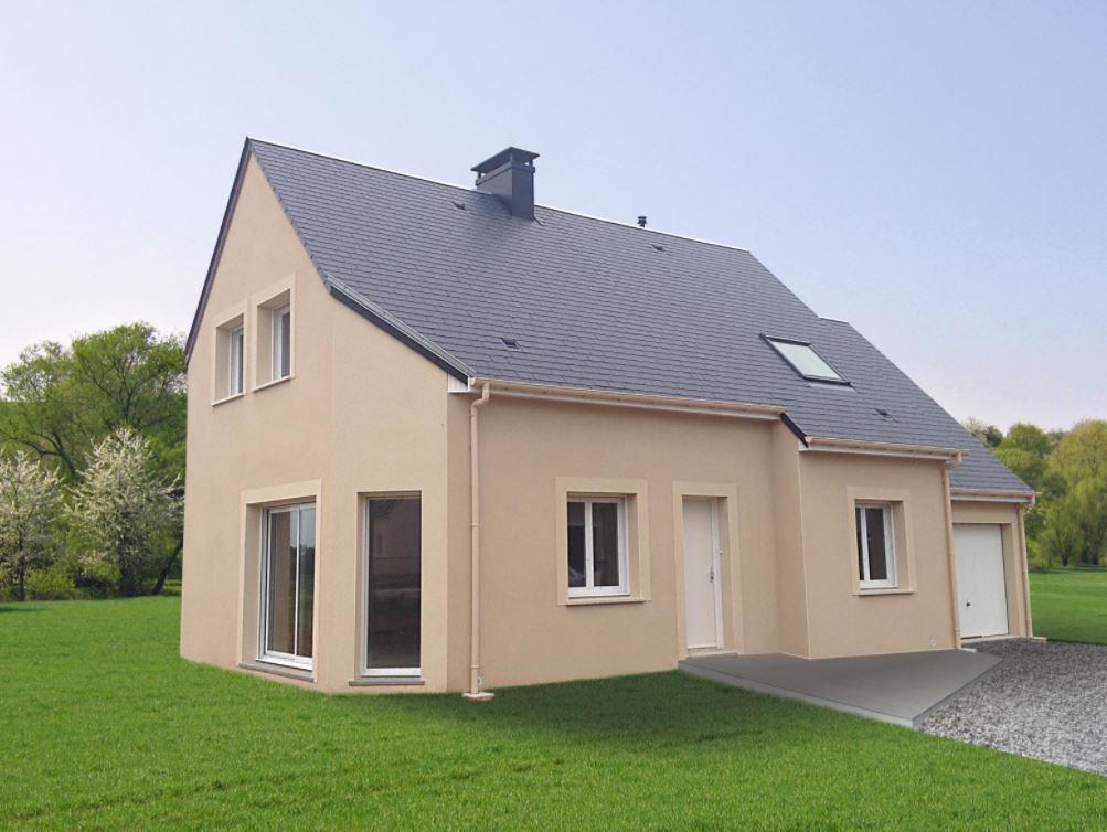 Maisons + Terrains du constructeur CASTOR MESNIL ESNARD • 104 m² • YVETOT