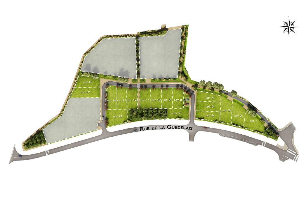 Terrains du constructeur EUROPEAN HOMES FRANCE • 435 m² • BAIN DE BRETAGNE