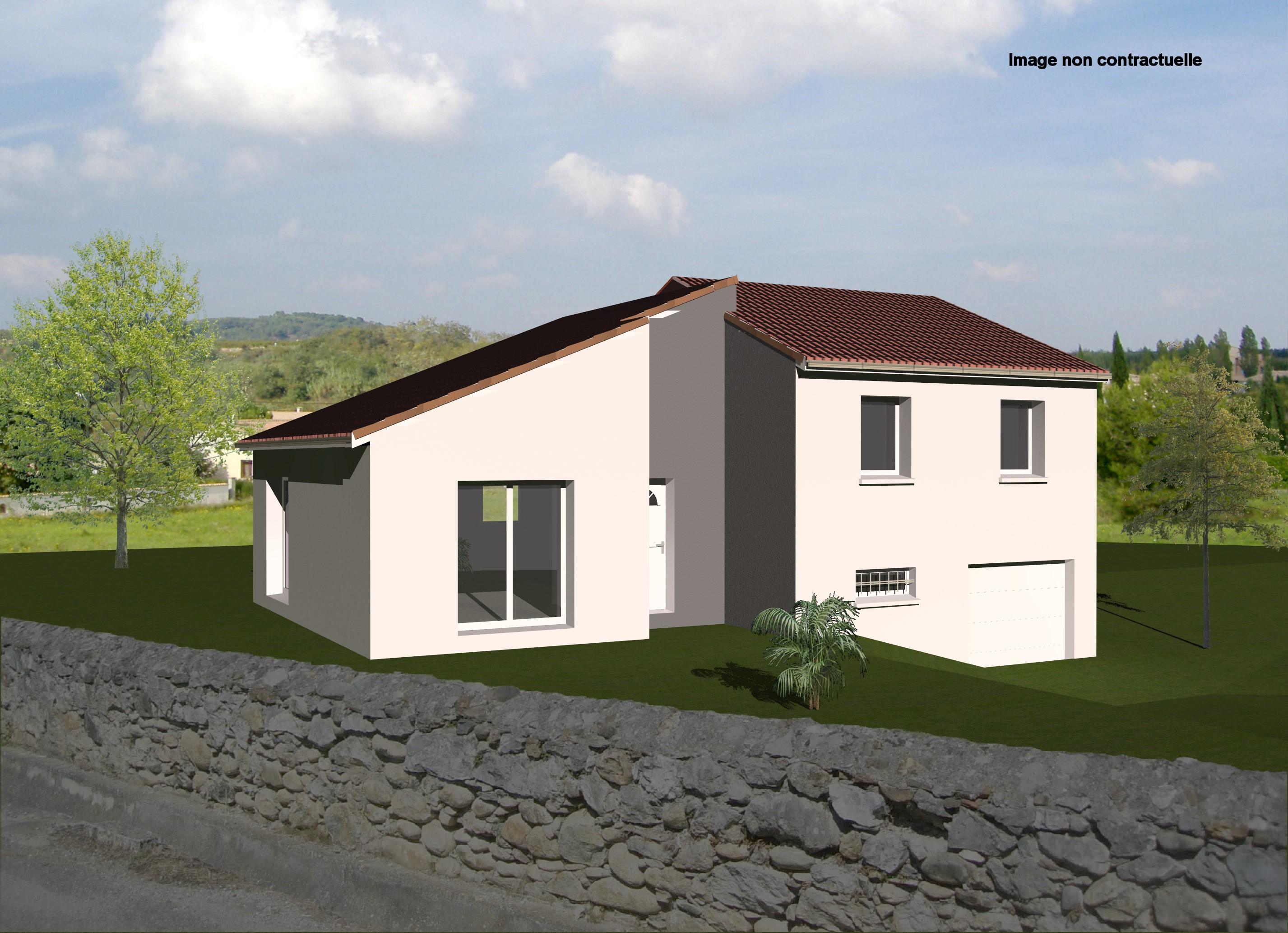 Maisons + Terrains du constructeur MAISONS CONCEPT 2000 •  m² • ROMAGNAT
