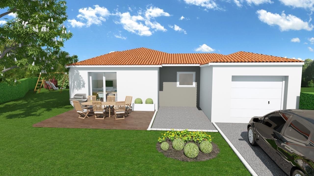 Maisons + Terrains du constructeur MAISONS CONCEPT 2000 •  m² • MENETROL