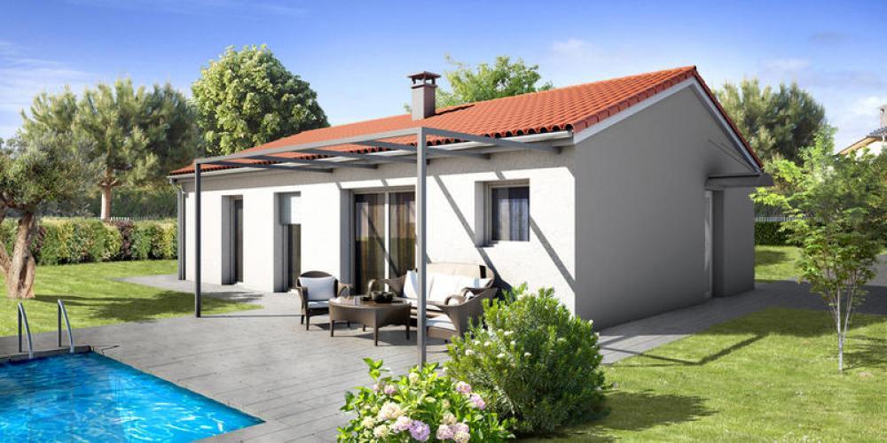 Maisons du constructeur MAISONS ELAN • 75 m² • COMBRONDE