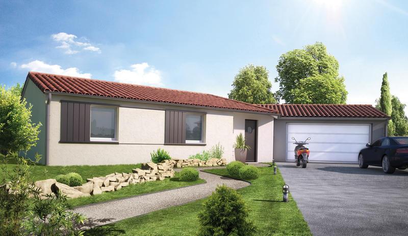 Maisons du constructeur MAISONS ELAN • 95 m² • PONTAUMUR