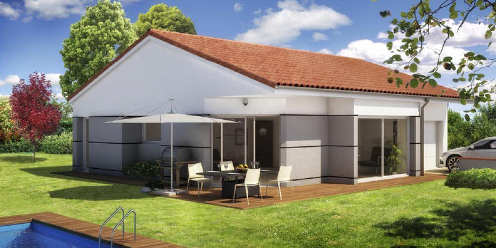 Maisons du constructeur MAISONS ELAN • 88 m² • CHARBONNIERES LES VARENNES