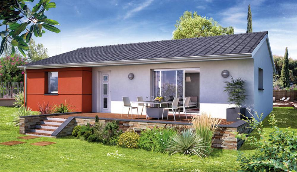 Maisons du constructeur MAISONS ELAN • 83 m² • CHARBONNIERES LES VIEILLES