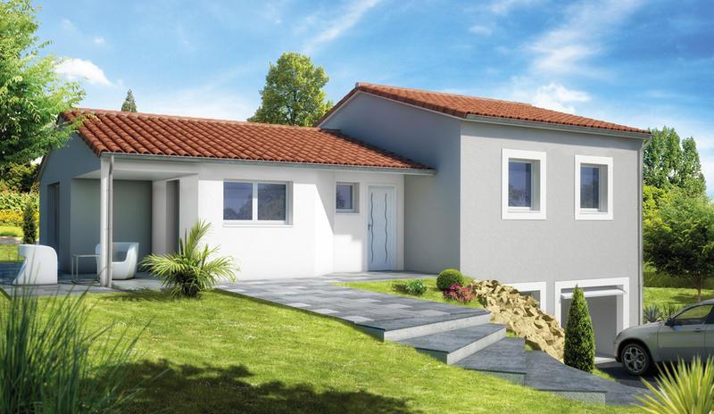 Maisons du constructeur MAISONS ELAN • 92 m² • CHAURIAT