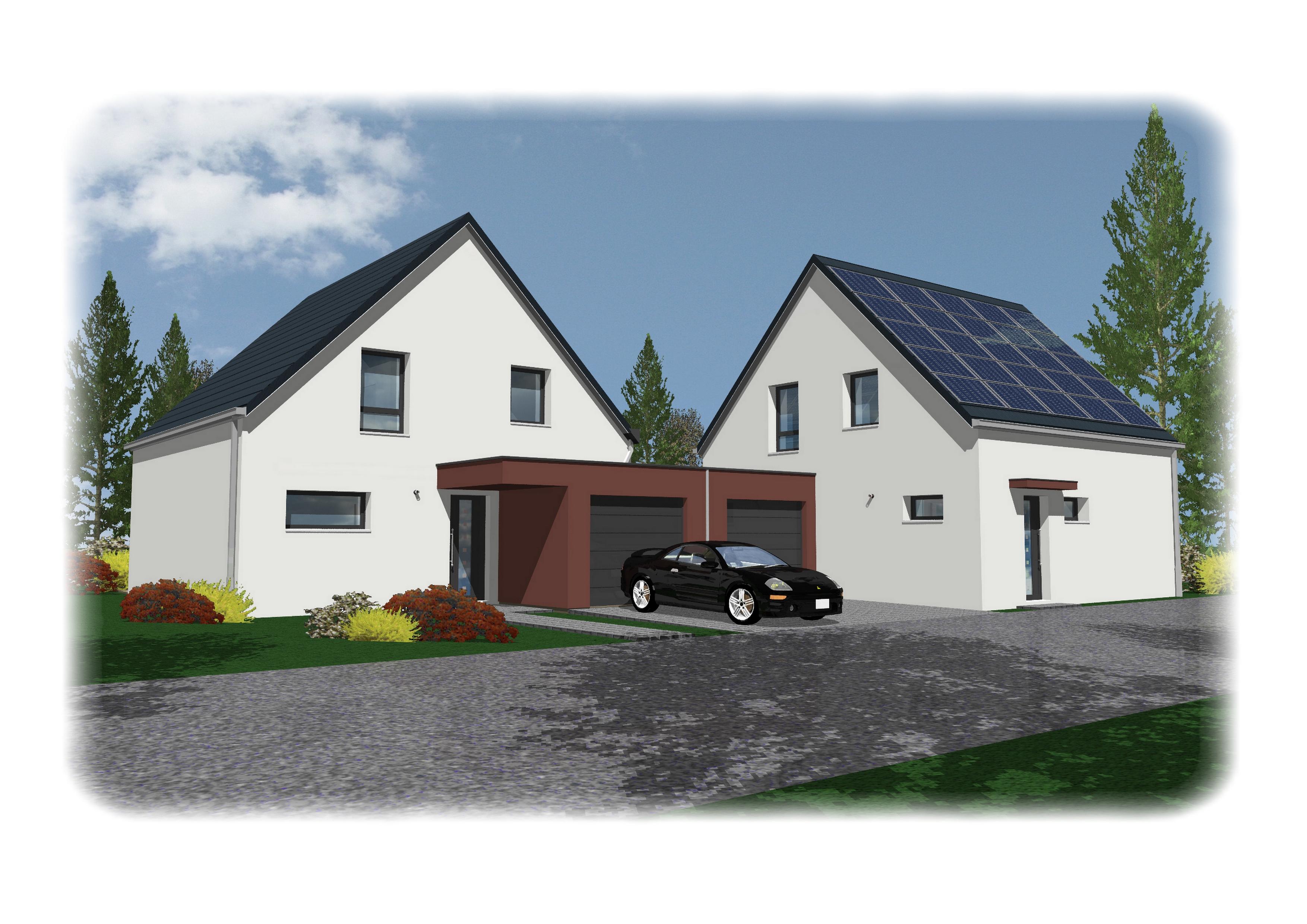 Maisons + Terrains du constructeur NMA • 115 m² • SCHWEIGHOUSE SUR MODER
