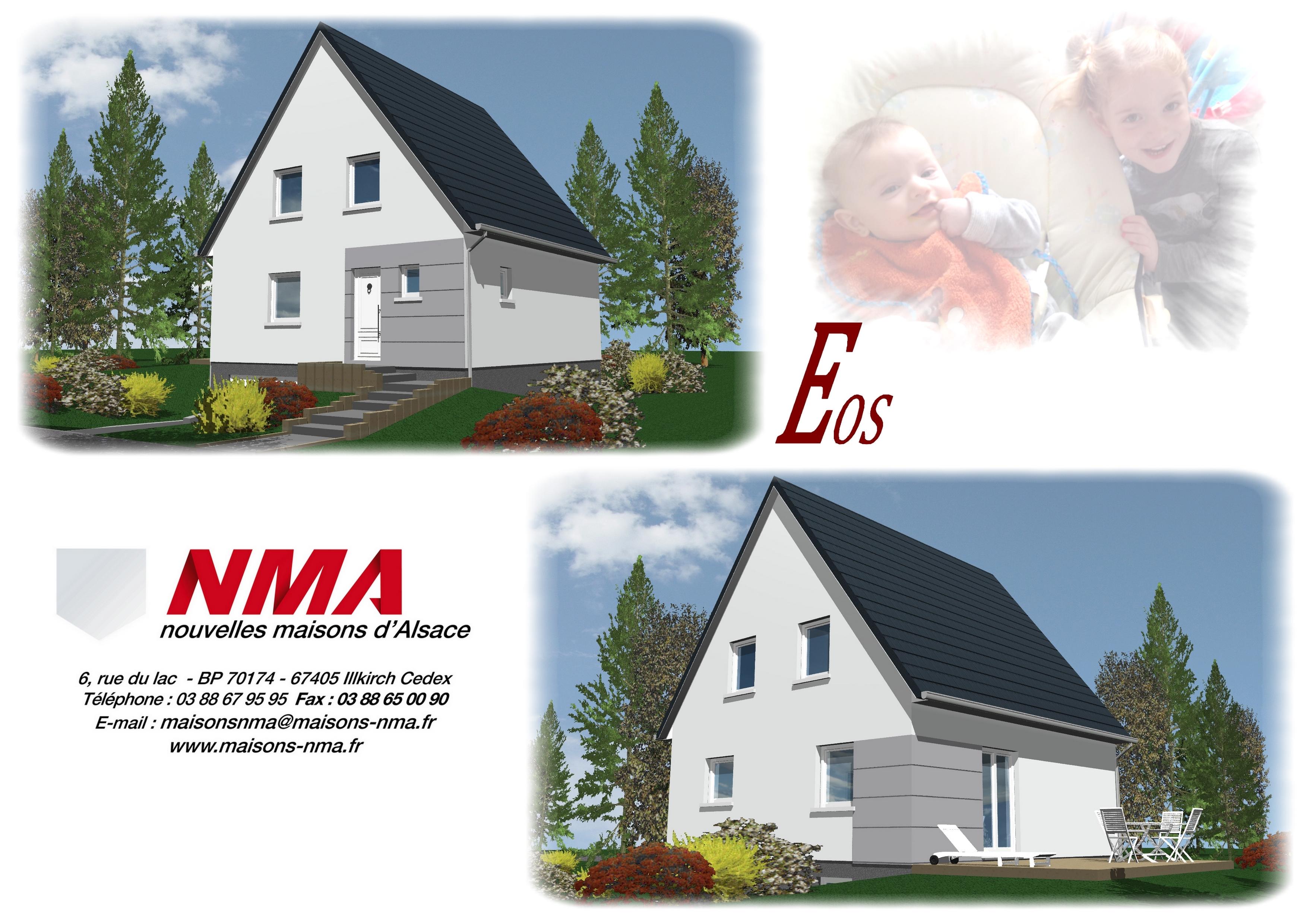 Maisons + Terrains du constructeur NMA • DAHLENHEIM