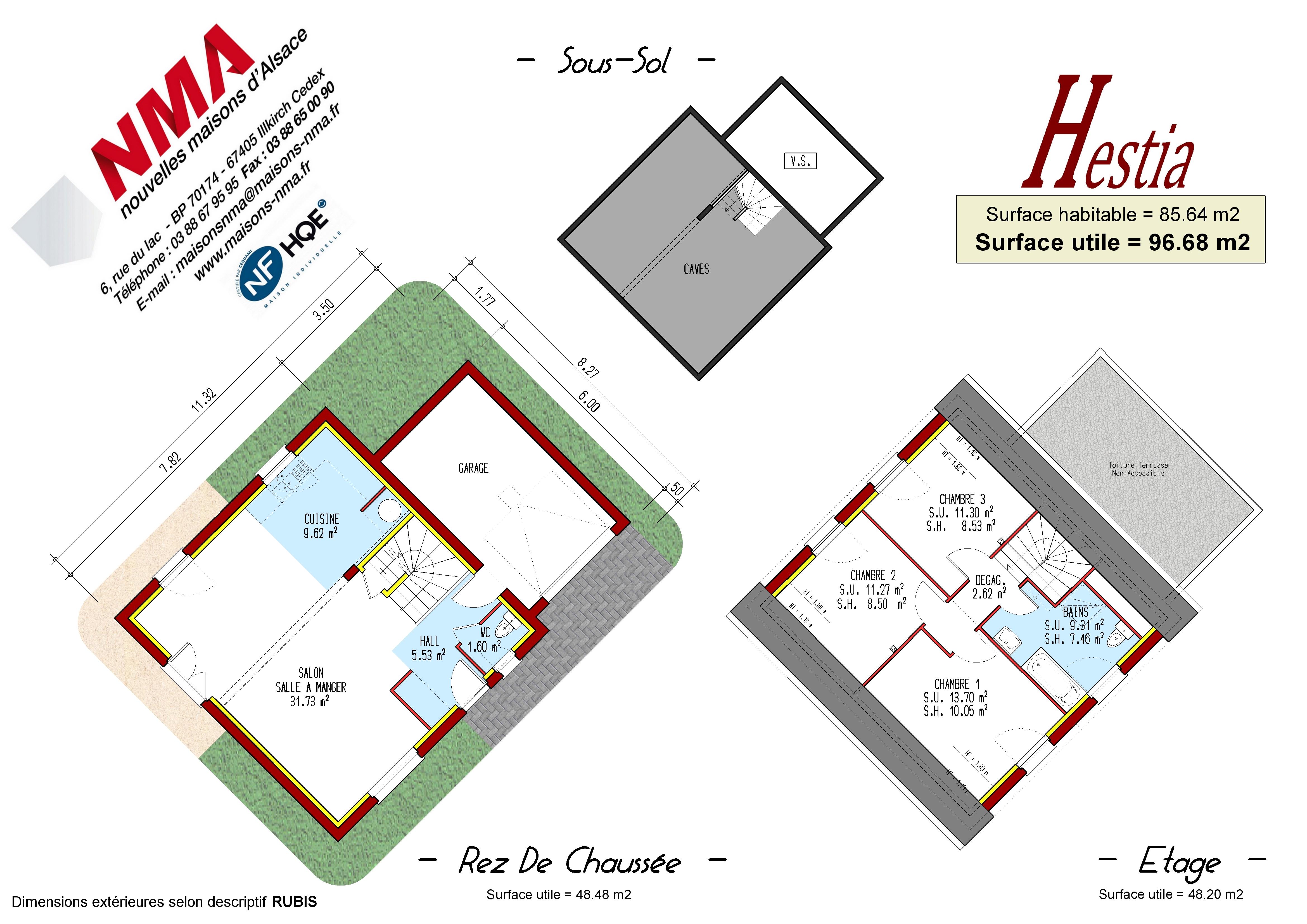 Maisons + Terrains du constructeur NMA • STEINBOURG