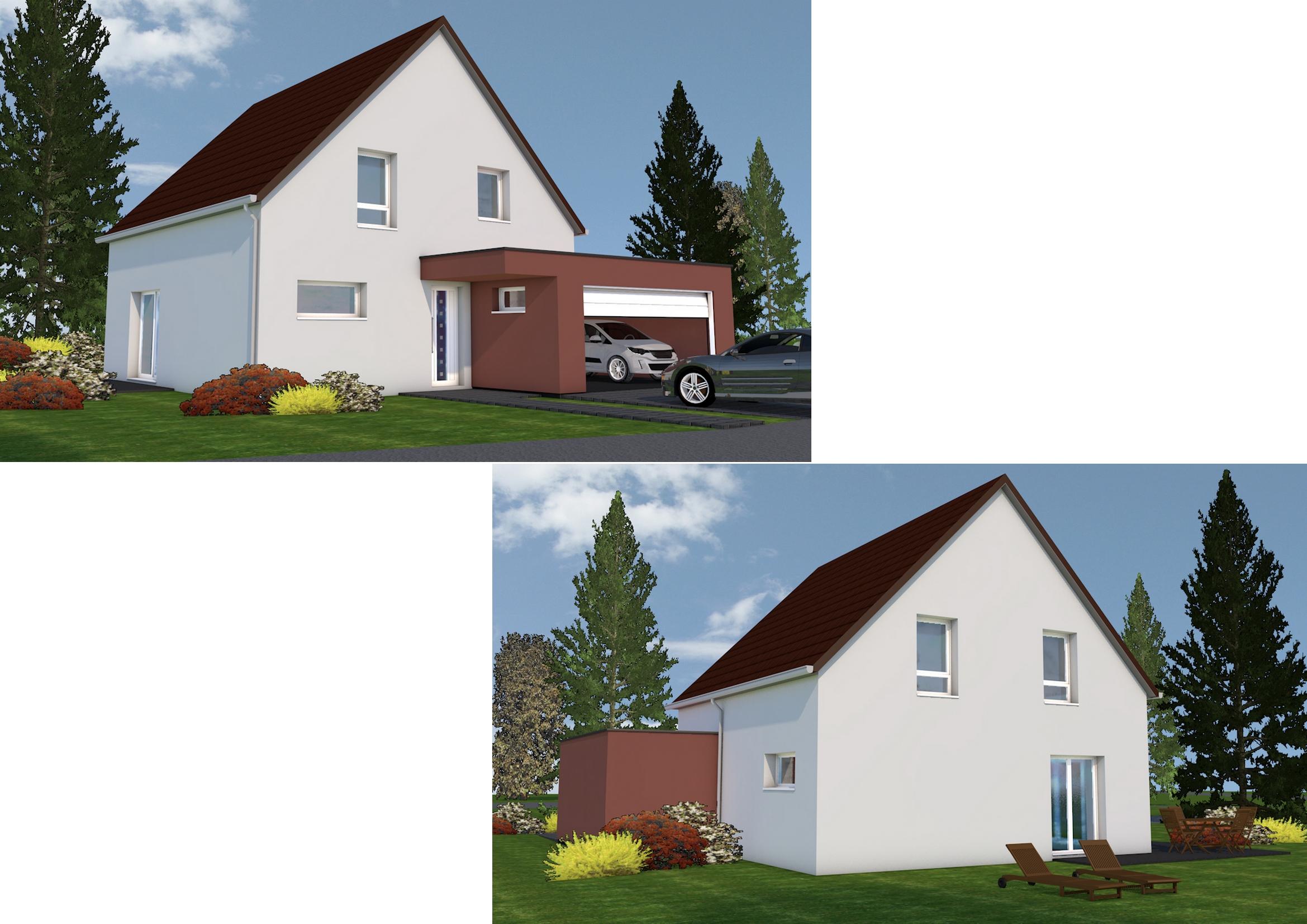 Maisons + Terrains du constructeur NMA •  m² • BENFELD