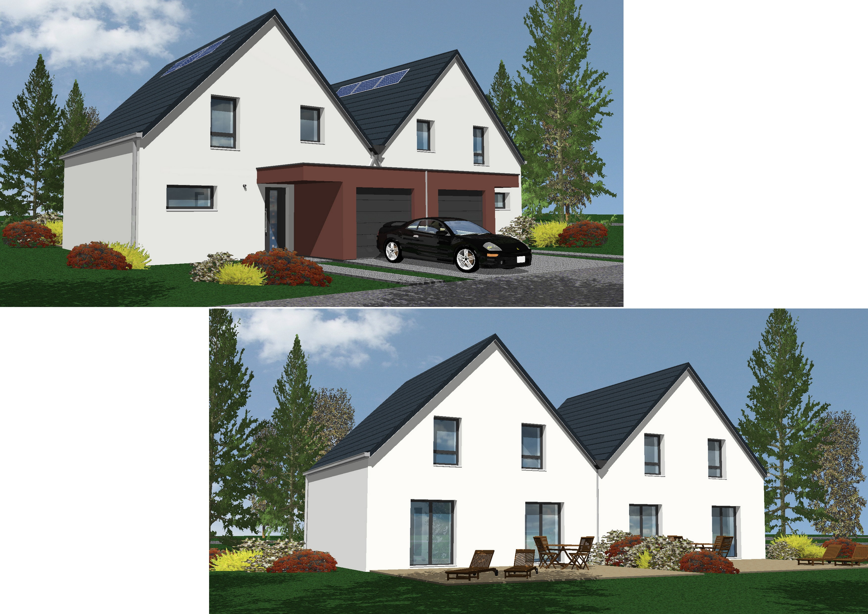Maisons + Terrains du constructeur NMA • MERTZWILLER