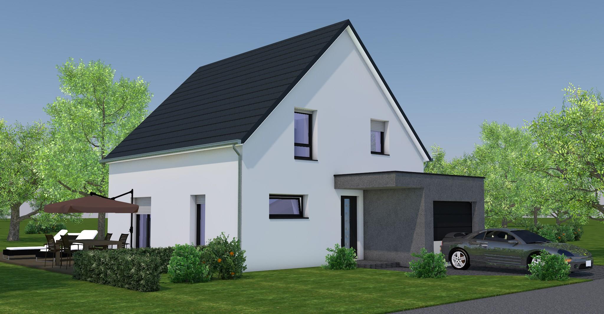 Maisons + Terrains du constructeur NMA •  m² • LA WALCK