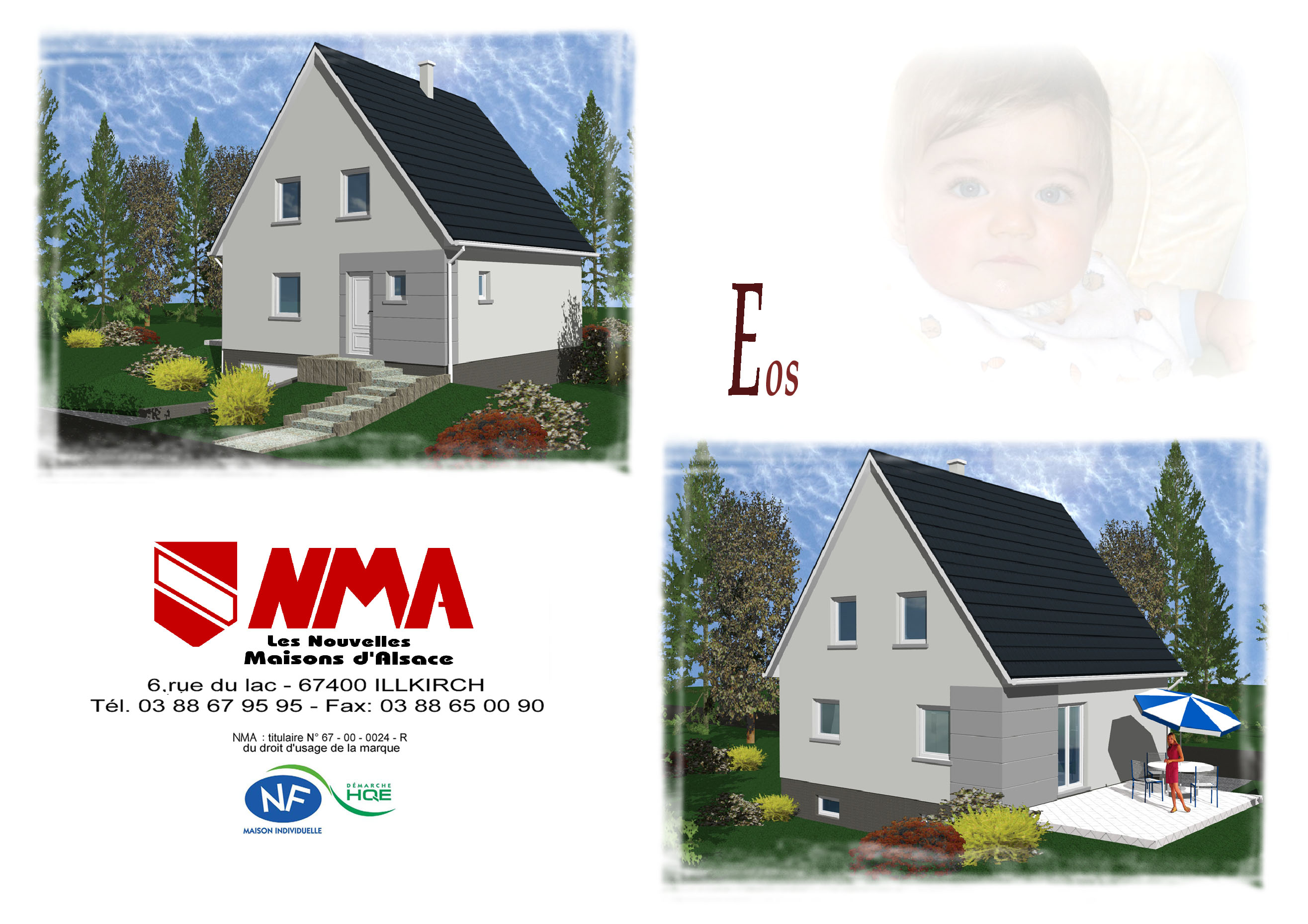 Maisons + Terrains du constructeur NMA •  m² • MOLSHEIM