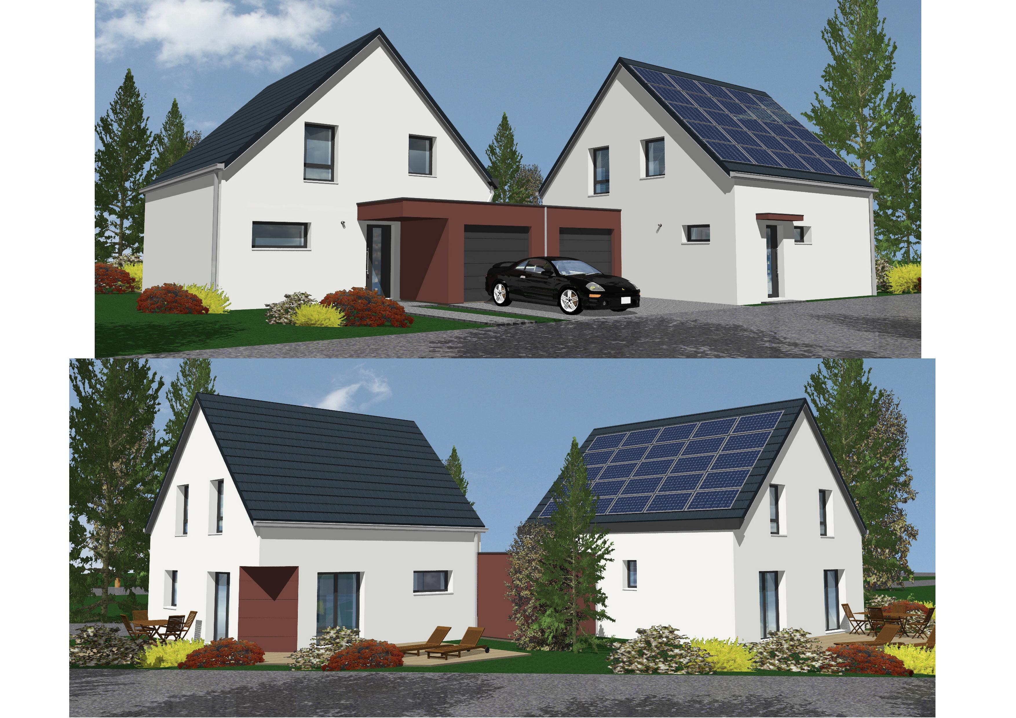 Maisons + Terrains du constructeur NMA •  m² • MOMMENHEIM