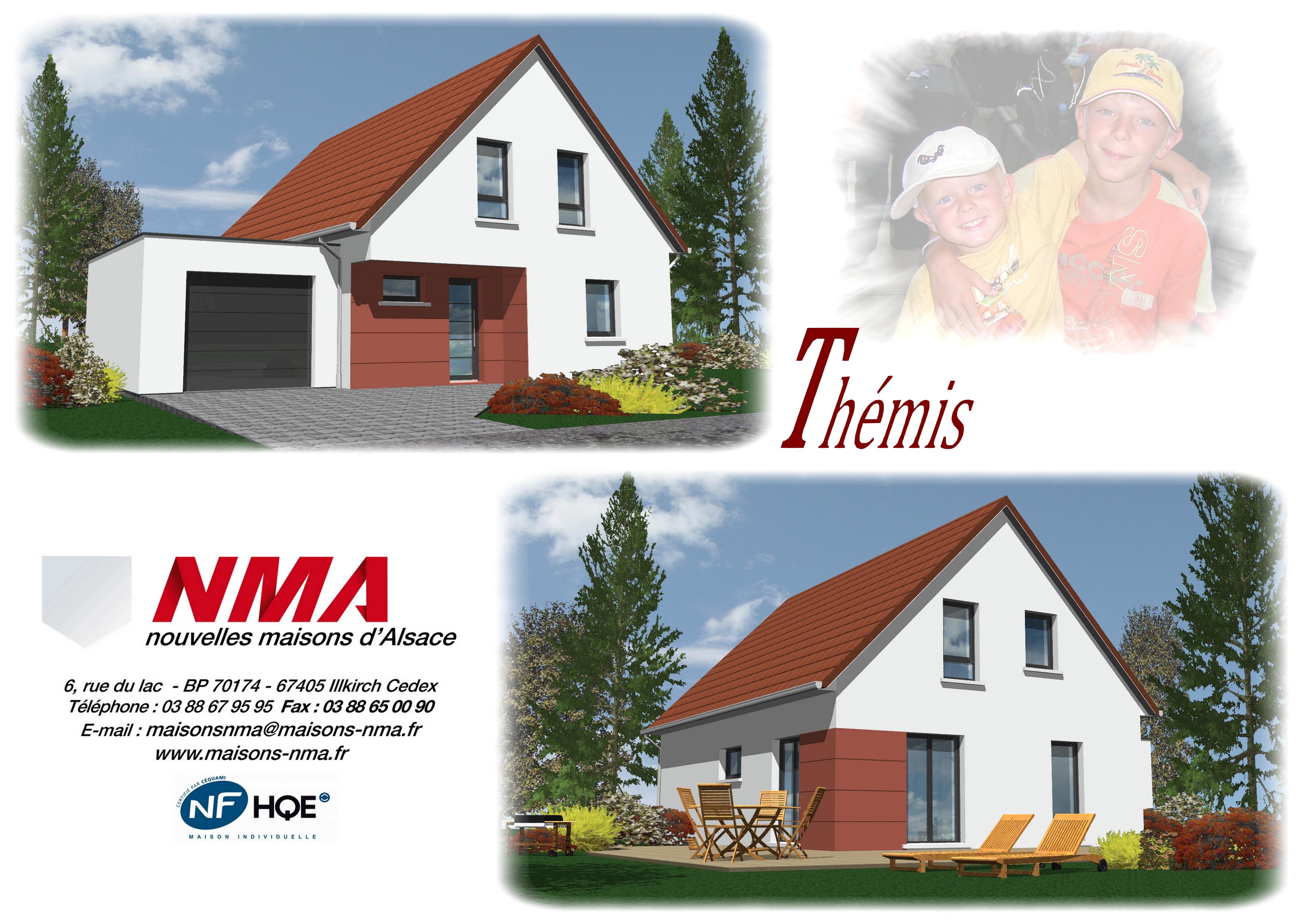 Maisons + Terrains du constructeur NMA • 105 m² • LOBSANN