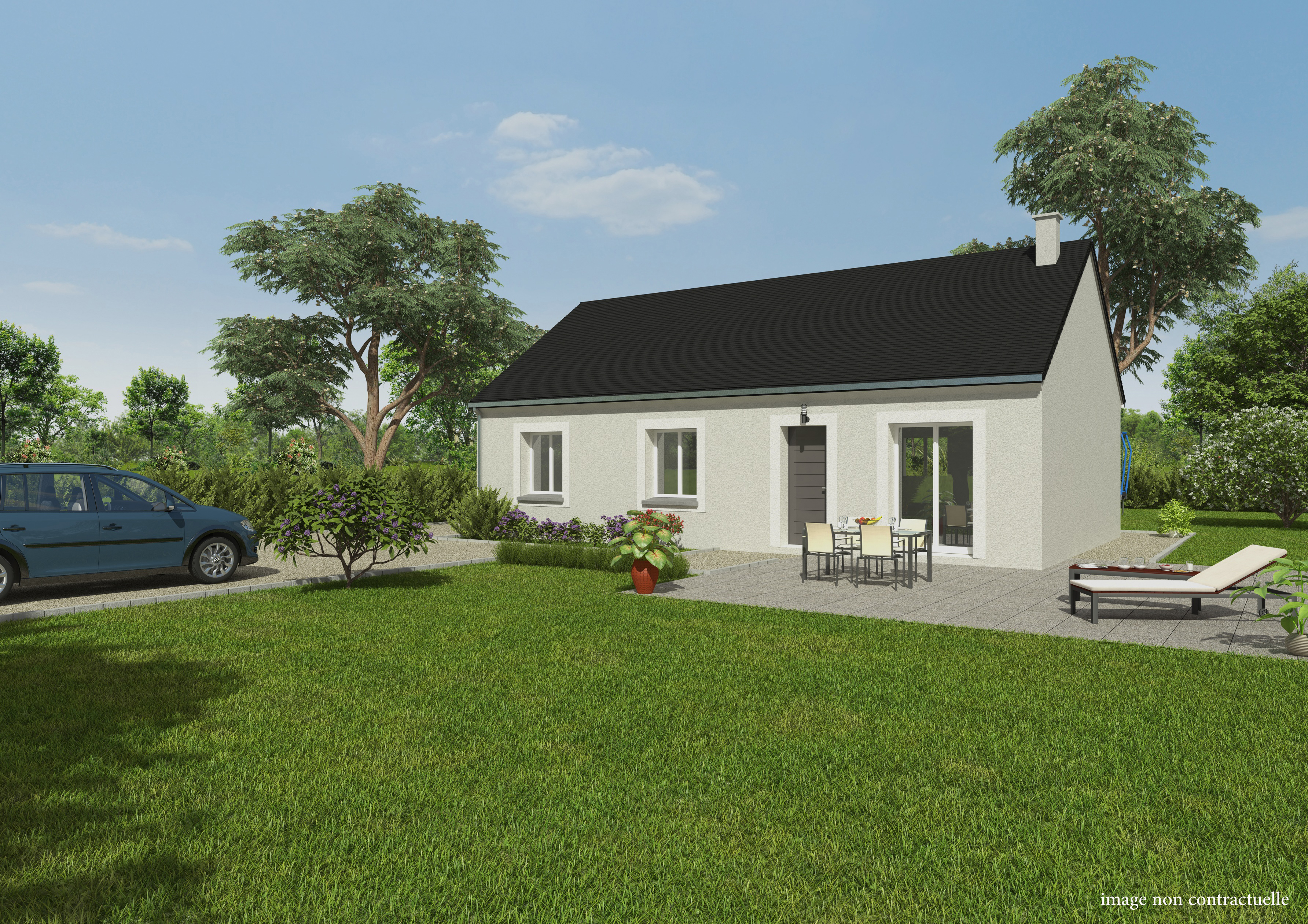 Maisons du constructeur GROUPE DIOGO FERNANDES • 76 m² • GARNAY