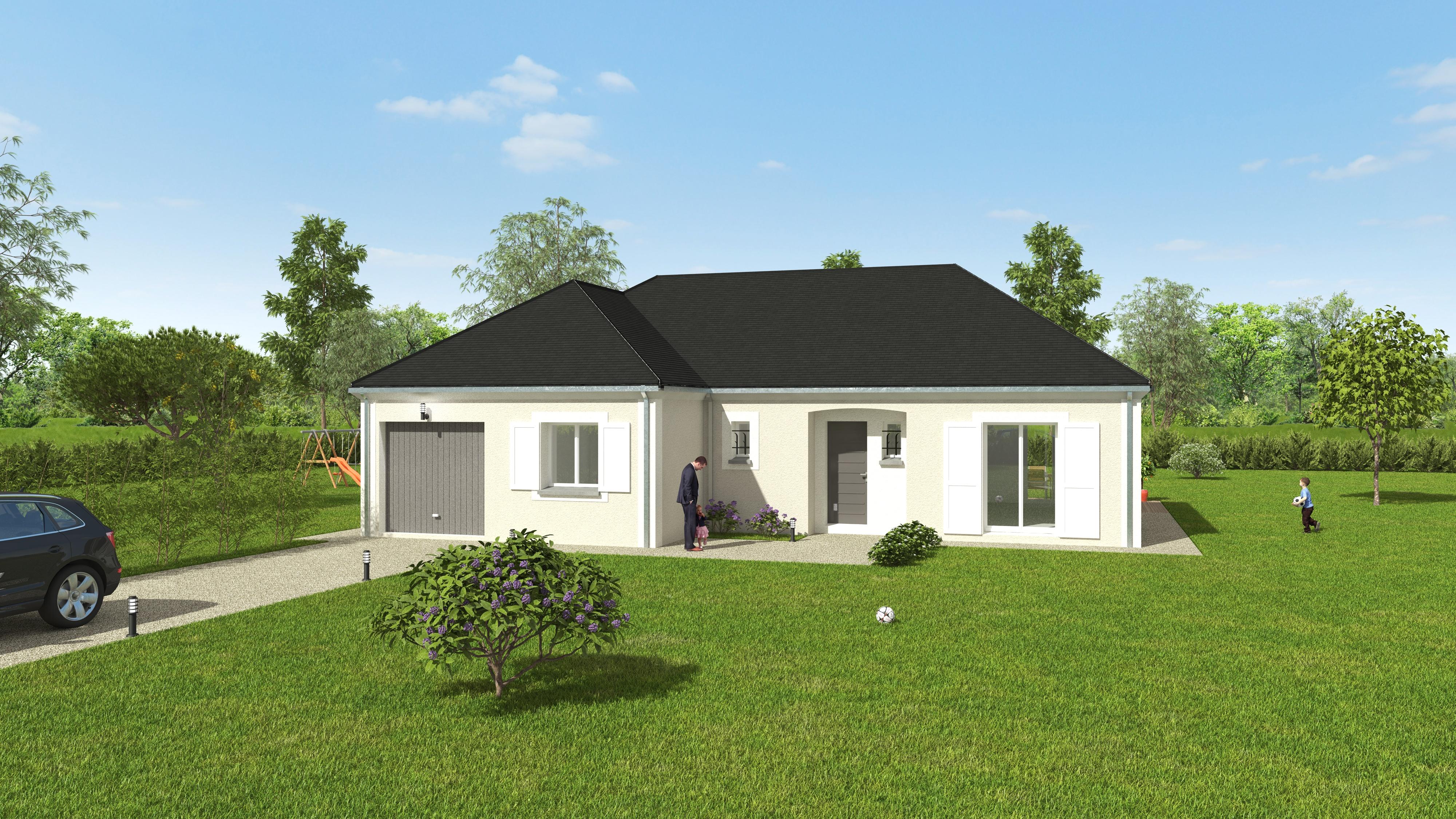 Maisons du constructeur GROUPE DIOGO FERNANDES • 102 m² • BAZOCHES SUR GUYONNE