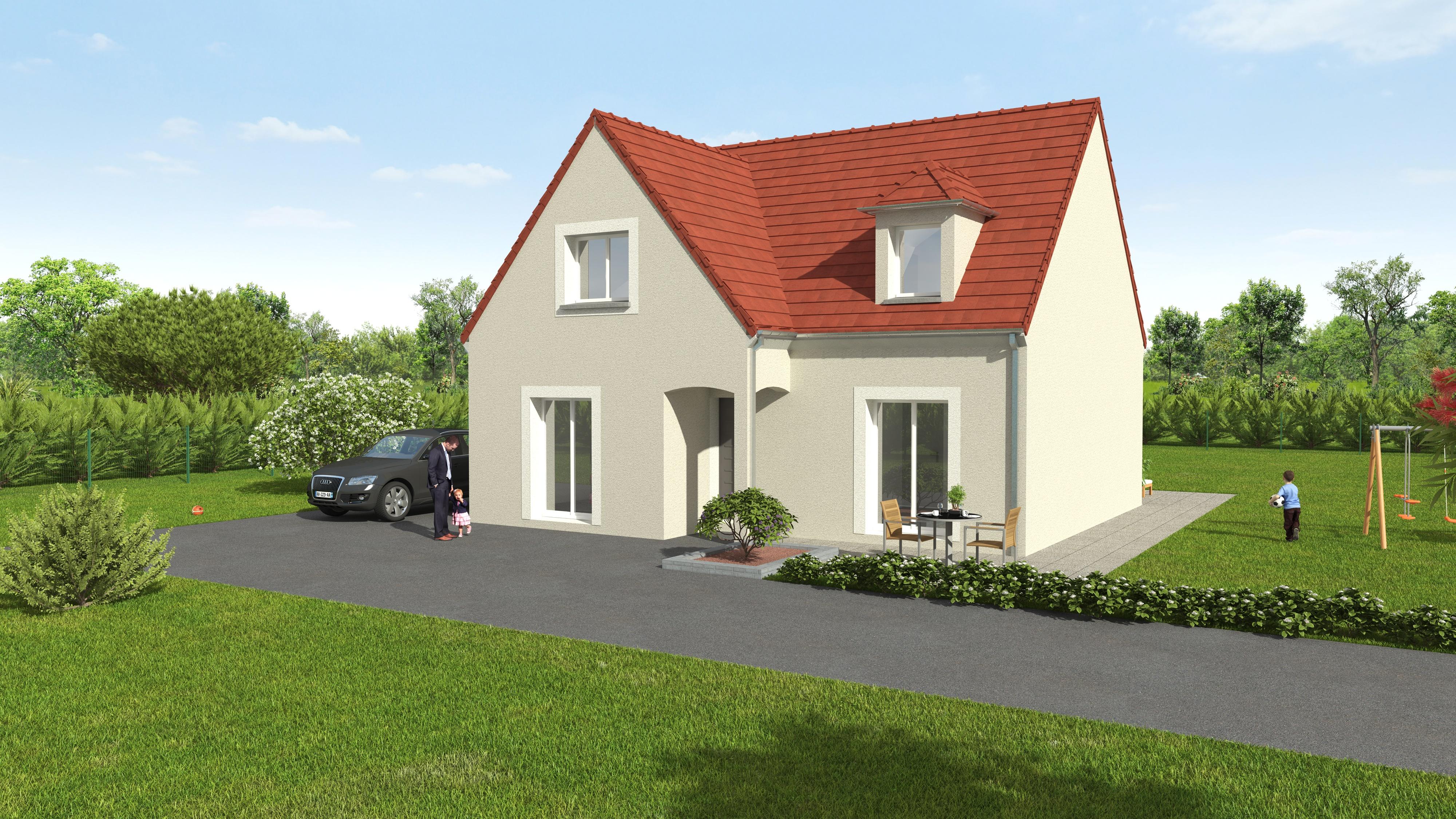 Maisons du constructeur GROUPE DIOGO FERNANDES • 119 m² • BAZOCHES SUR GUYONNE