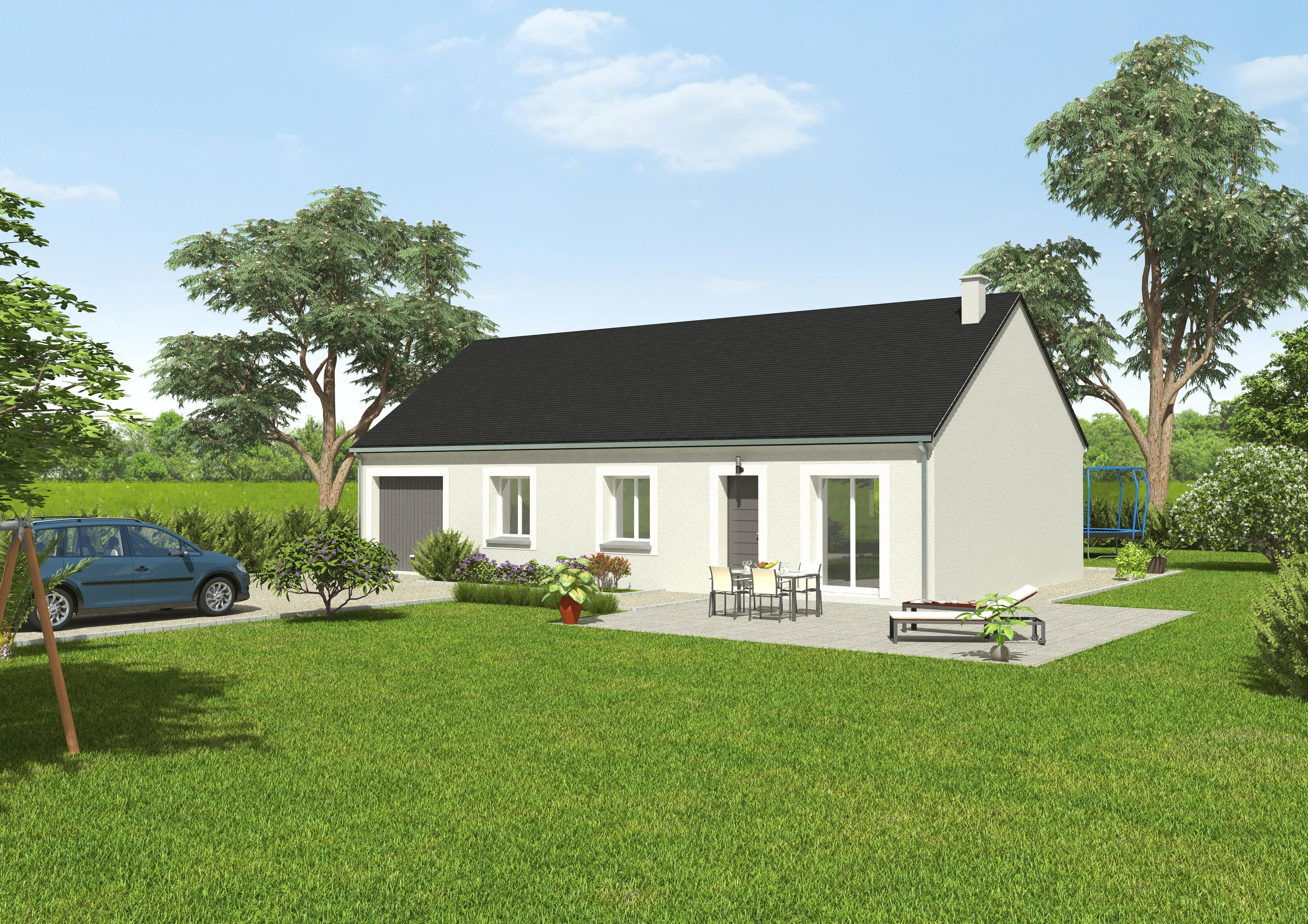 Maisons du constructeur GROUPE DIOGO FERNANDES • 76 m² • AUNAY SOUS CRECY