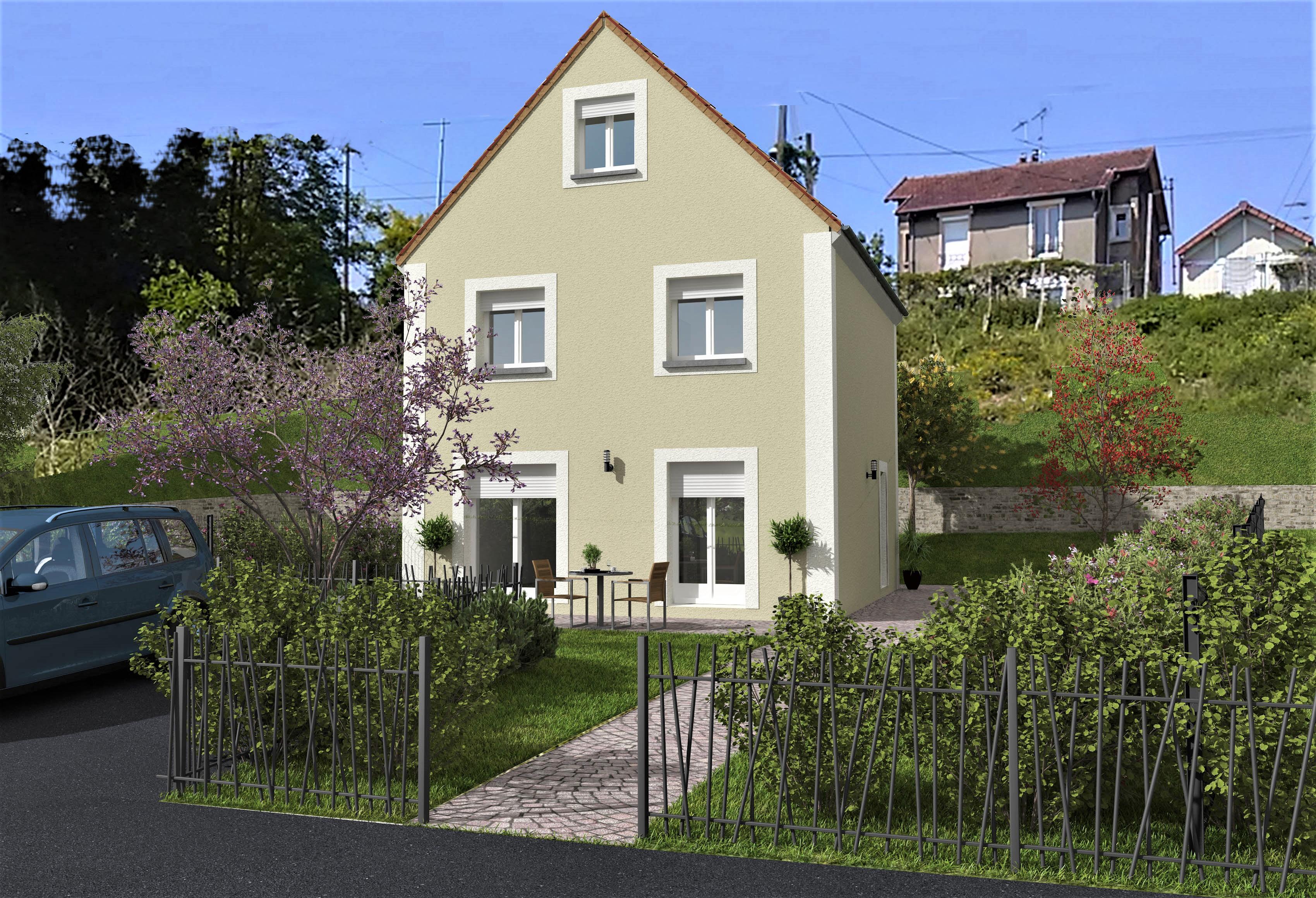 Maisons du constructeur GROUPE DIOGO FERNANDES • 91 m² • BRUNOY