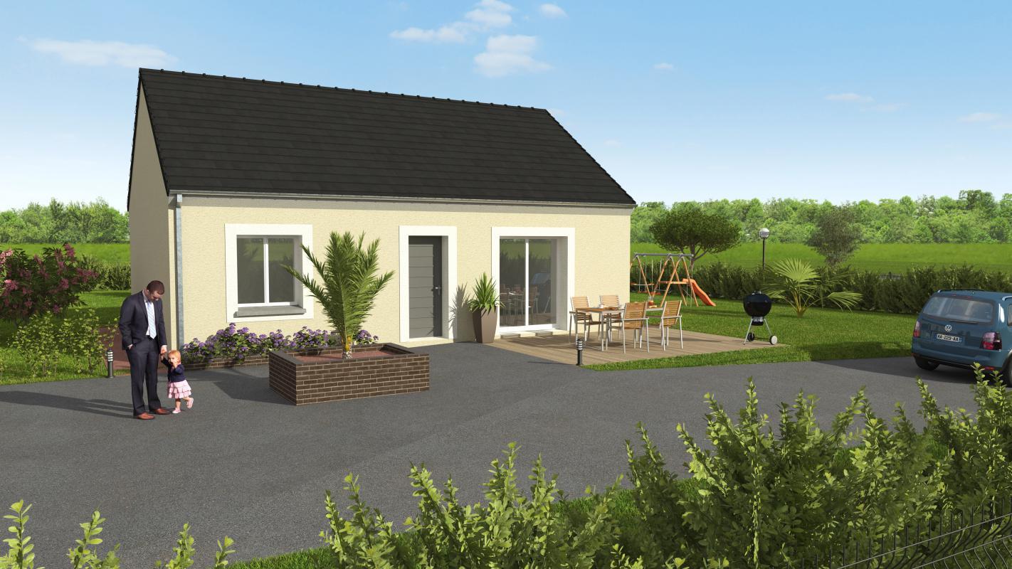 Maisons + Terrains du constructeur GROUPE DIOGO FERNANDES • 63 m² • CHAUDON