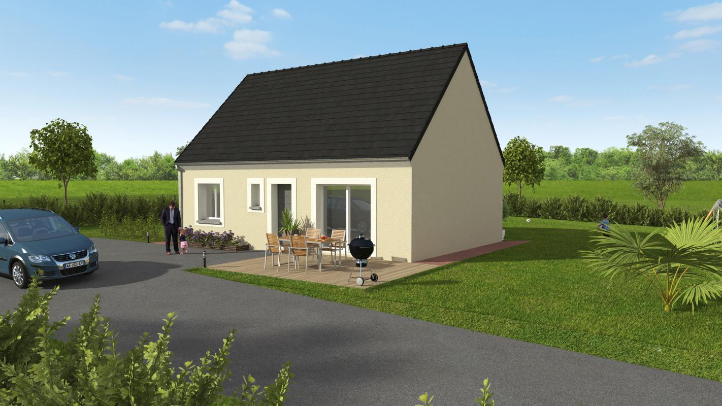 Maisons + Terrains du constructeur GROUPE DIOGO FERNANDES • 62 m² • CHARTRES