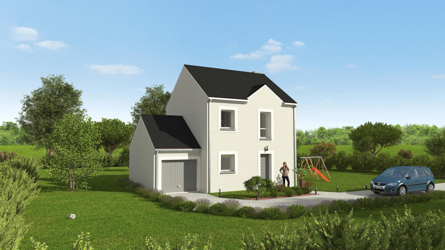 Maisons + Terrains du constructeur GROUPE DIOGO FERNANDES • 78 m² • DREUX