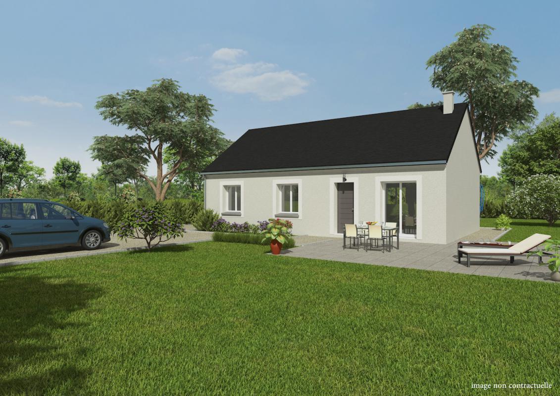 Maisons + Terrains du constructeur GROUPE DIOGO FERNANDES • 76 m² • CHAUDON