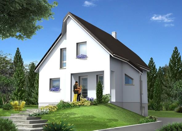 Maisons du constructeur MAISONS C  RIZZON ALSACE • KUTZENHAUSEN