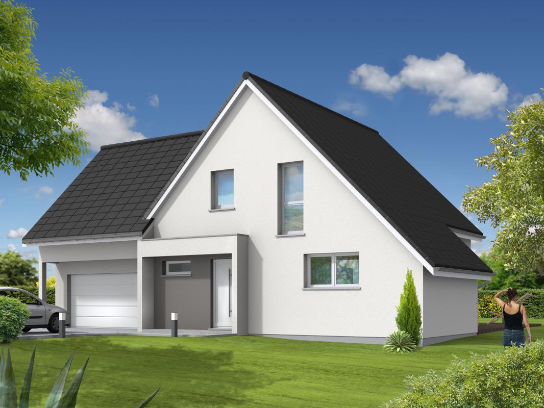 Maisons du constructeur MAISONS C  RIZZON ALSACE • WITTERSHEIM