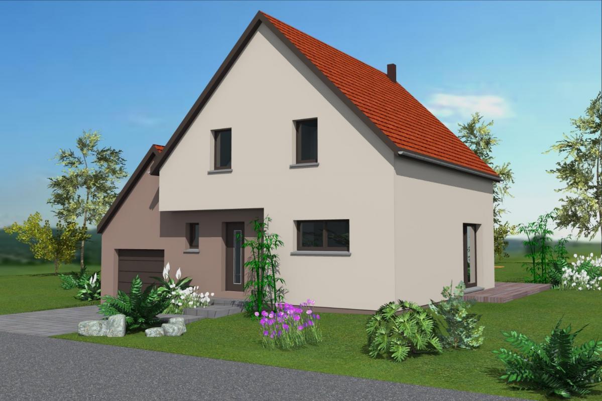 Maisons du constructeur MAISONS C  RIZZON ALSACE • WILLGOTTHEIM