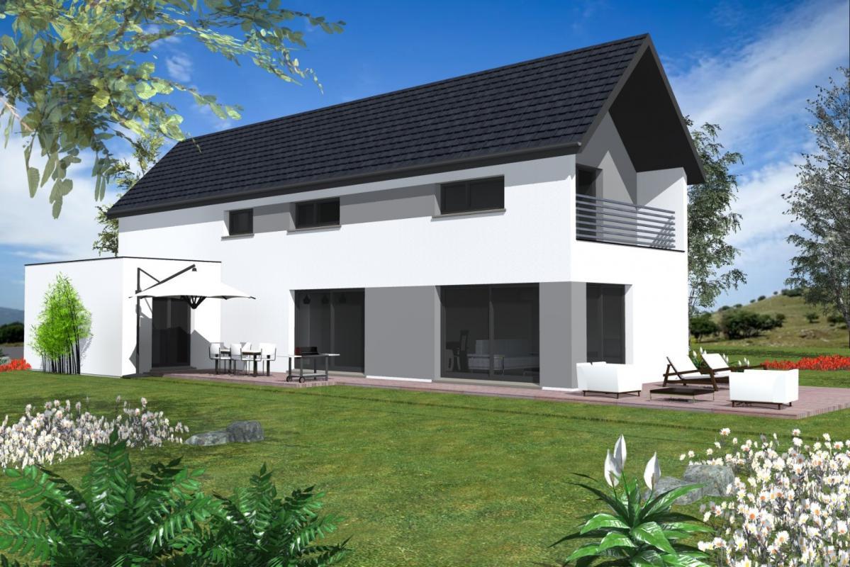 Maisons du constructeur MAISONS C  RIZZON ALSACE • KLEINGOEFT
