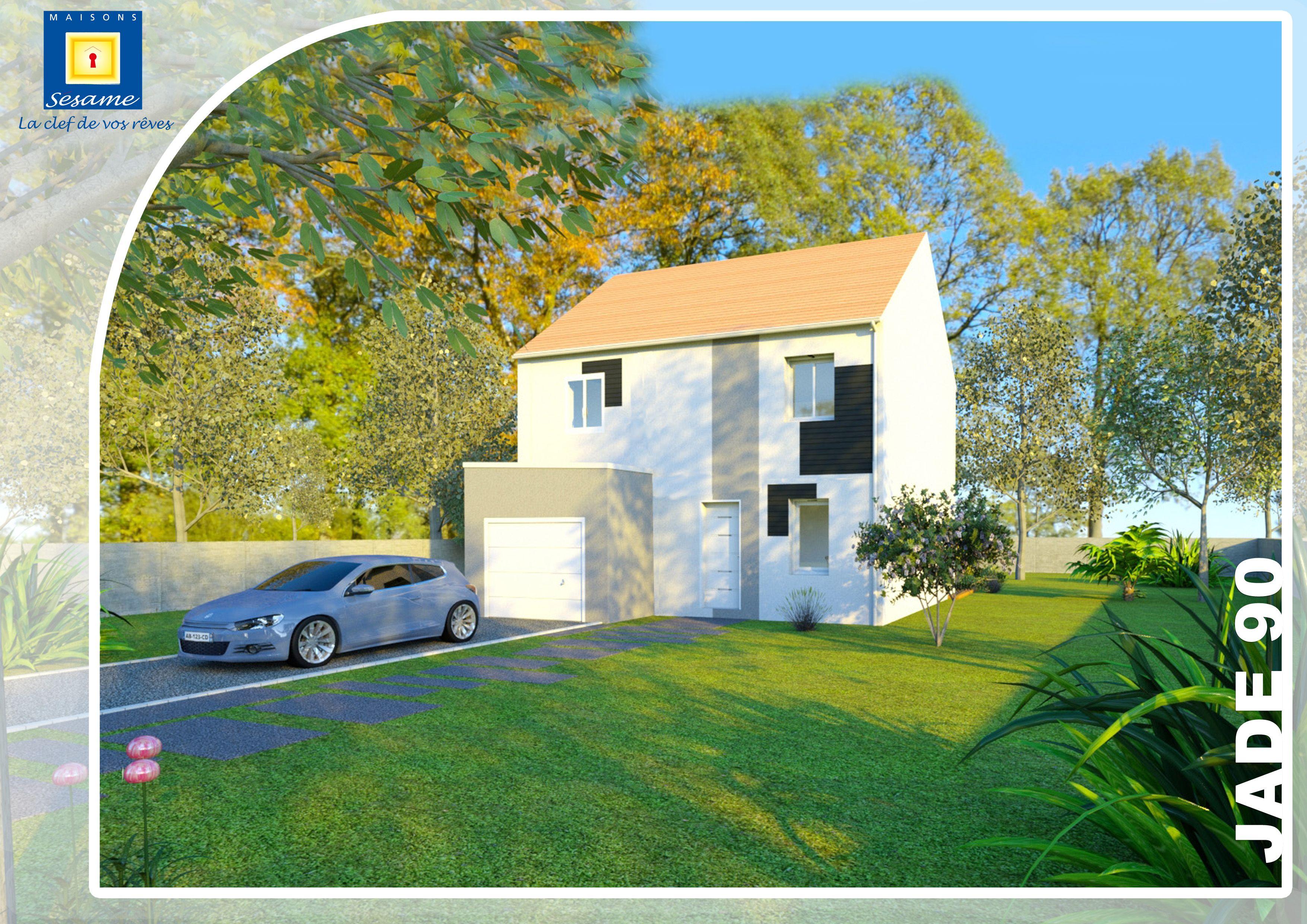 Maisons + Terrains du constructeur COFIDIM MAISONS SESAME • 75 m² • ABLIS