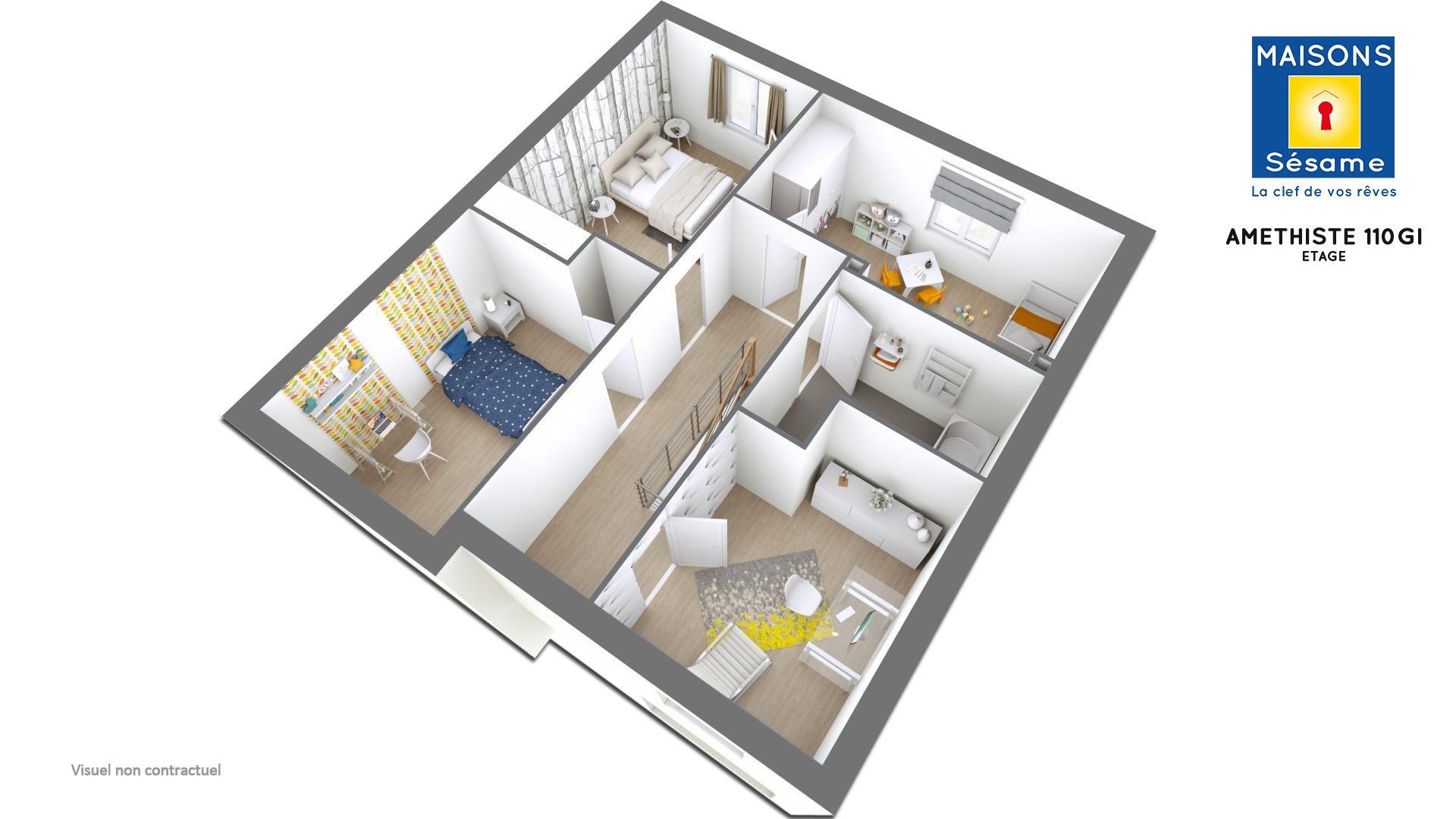 Maisons + Terrains du constructeur COFIDIM MAISONS SESAME • 110 m² • VIRY CHATILLON