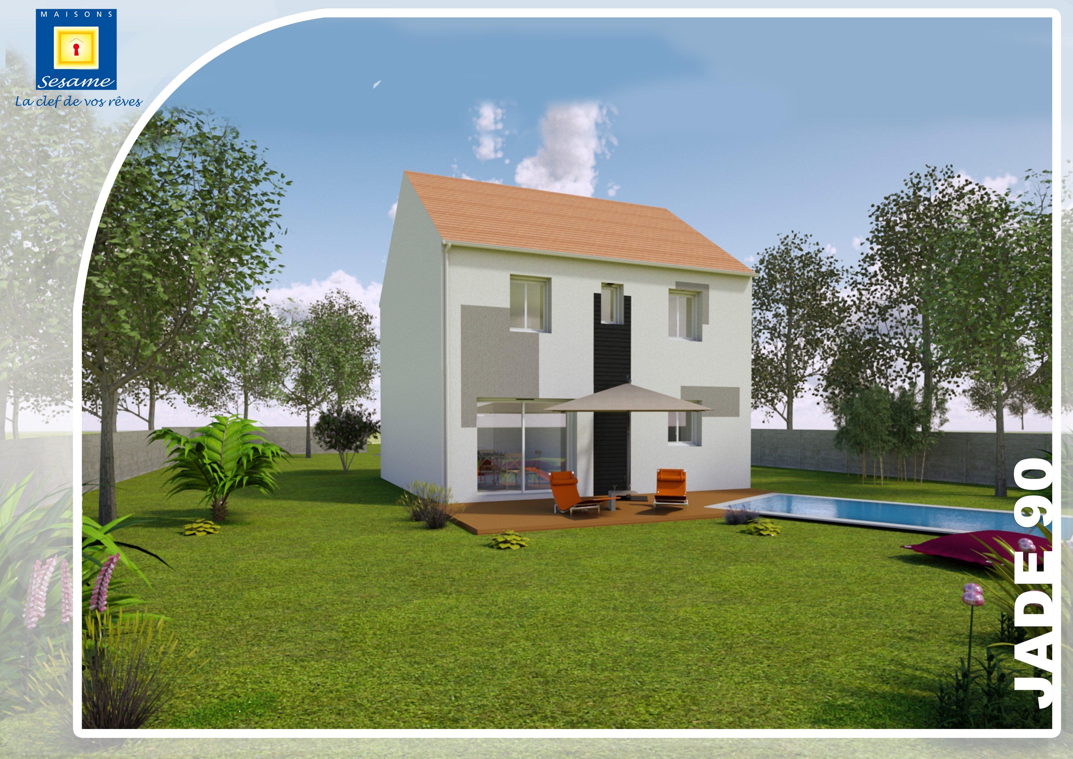 Maisons + Terrains du constructeur COFIDIM MAISONS SESAME • 110 m² • MONDEVILLE