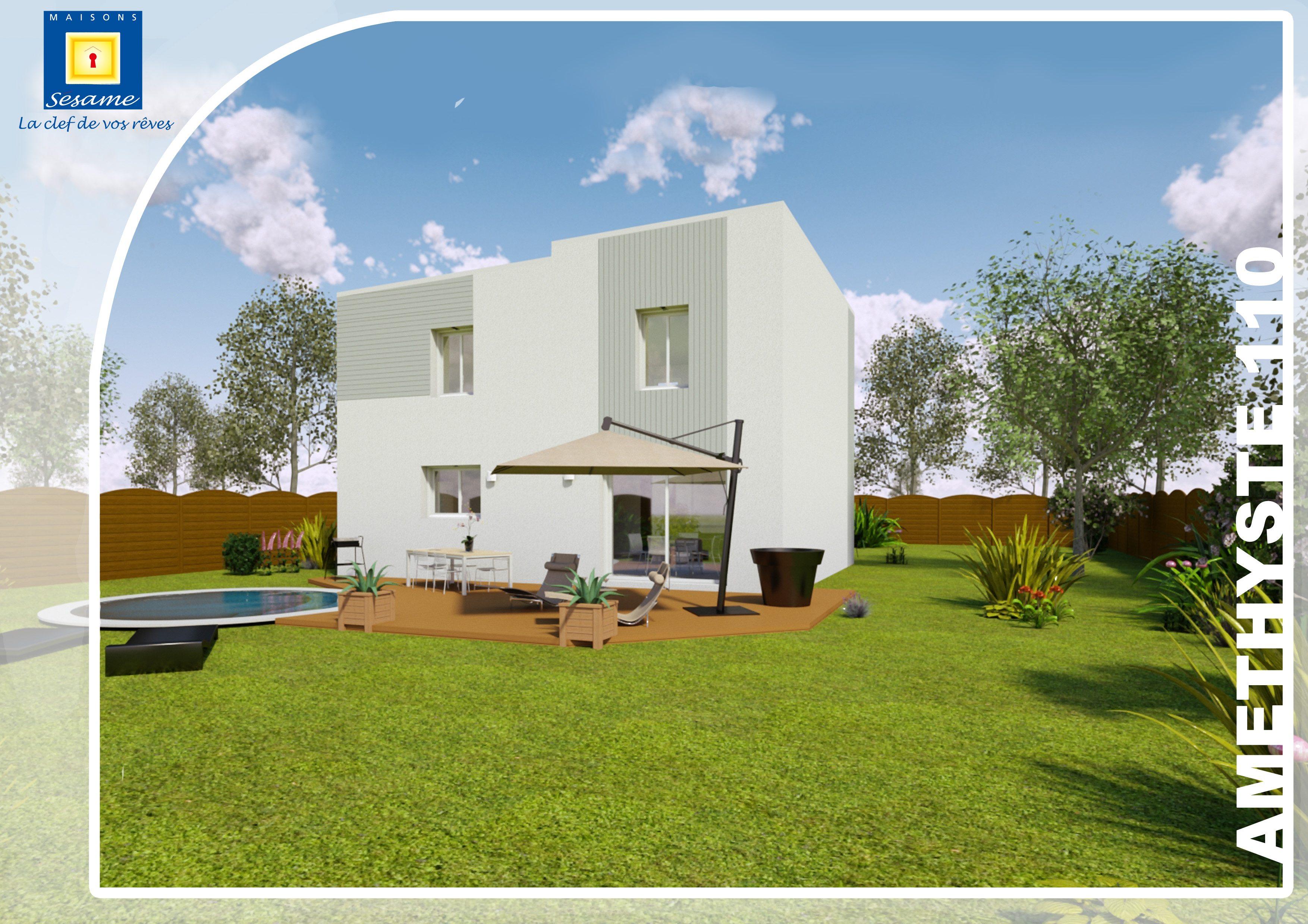 Maisons + Terrains du constructeur COFIDIM MAISONS SESAME • 110 m² • BREUILLET