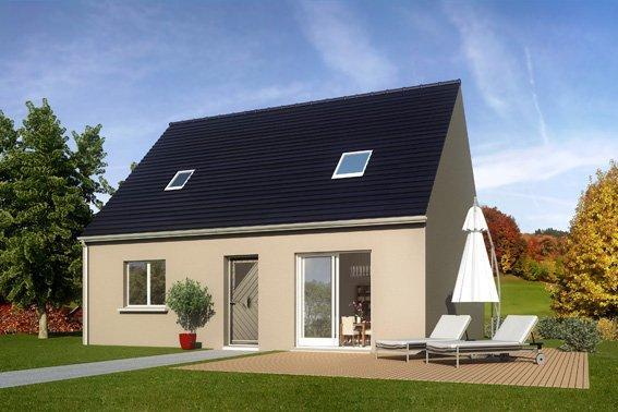 Maisons + Terrains du constructeur COFIDIM MAISONS SESAME • 75 m² • MENNECY
