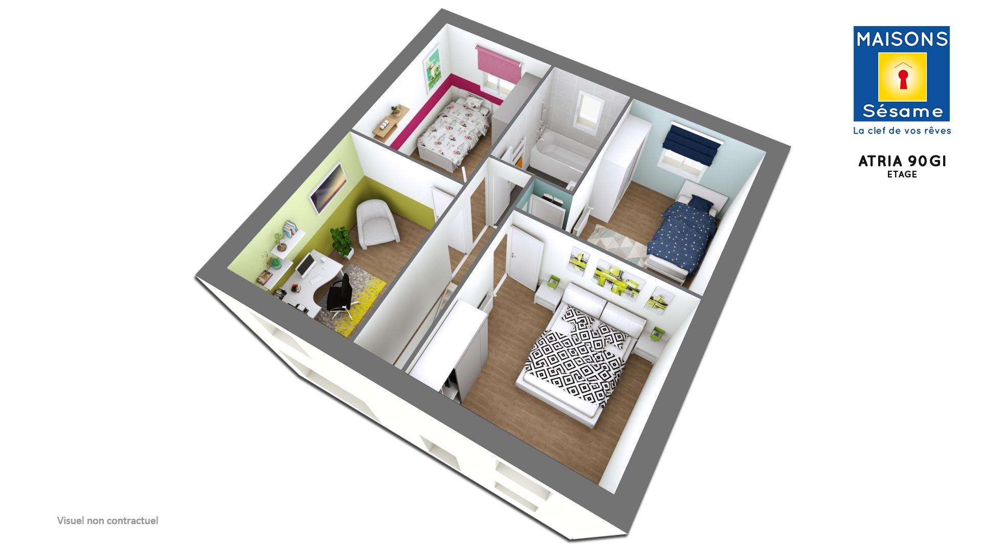 Terrains du constructeur COFIDIM MAISONS SESAME •  m² • PONTCARRE