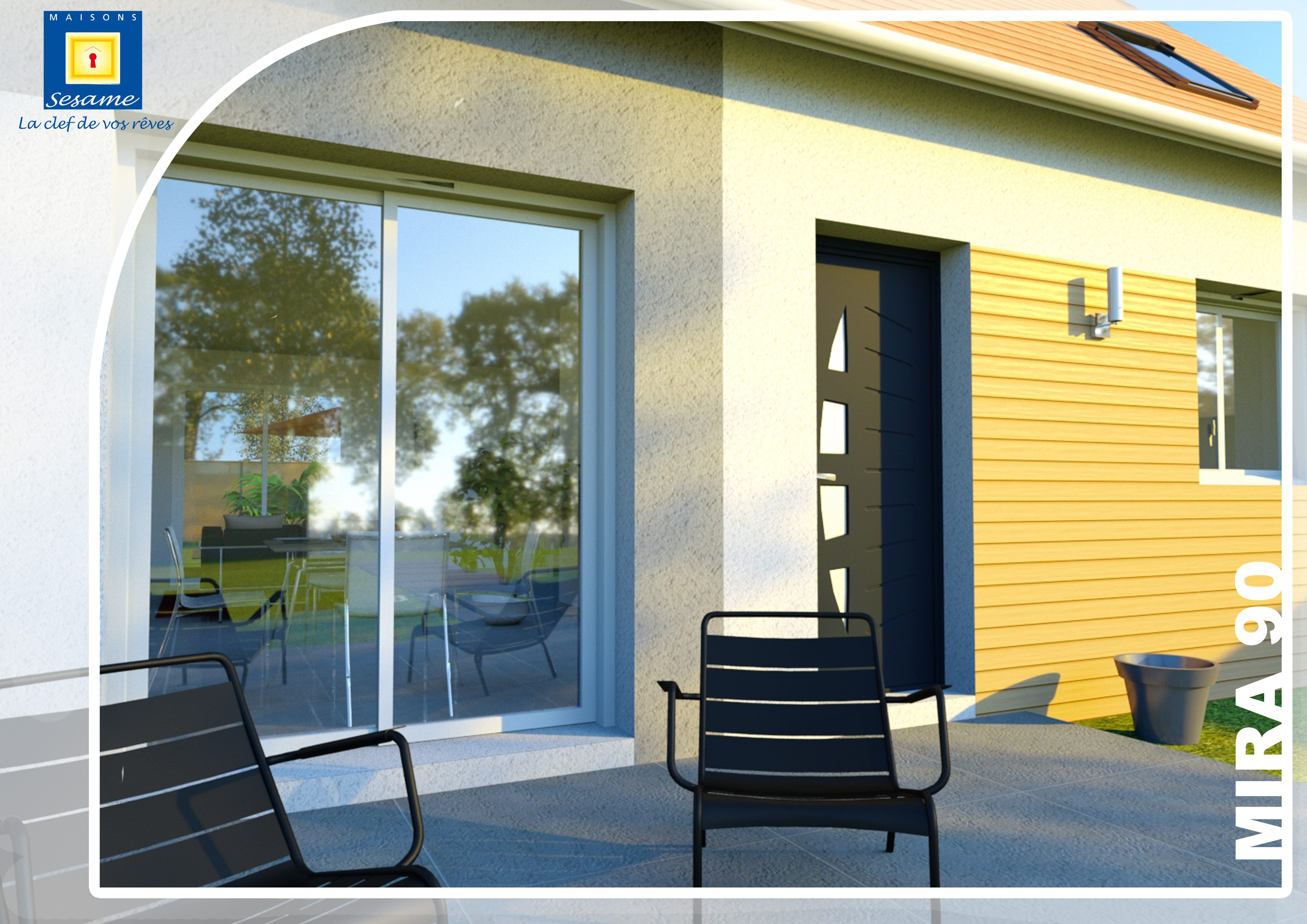 Maisons + Terrains du constructeur COFIDIM MAISONS SESAME • 90 m² • MOIGNY SUR ECOLE
