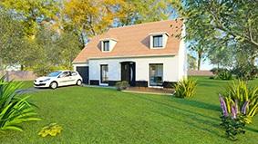 Maisons + Terrains du constructeur COFIDIM MAISONS SESAME • 115 m² • PRUNAY EN YVELINES