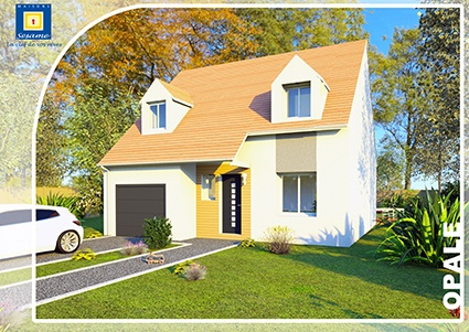 Maisons + Terrains du constructeur COFIDIM MAISONS SESAME • 90 m² • PRUNAY EN YVELINES