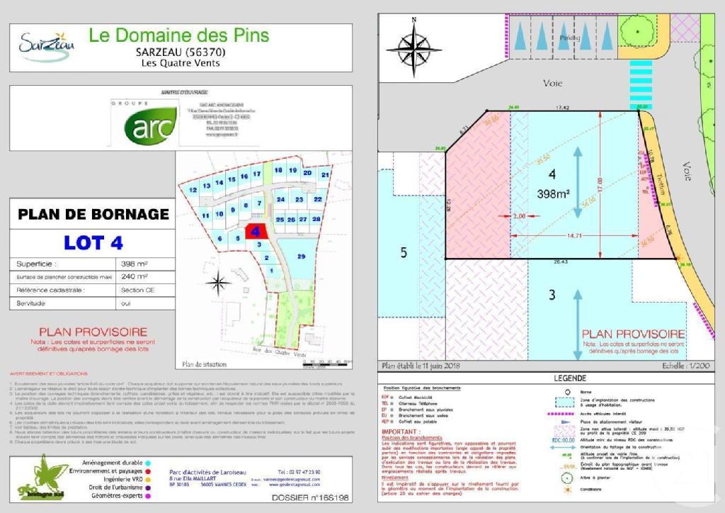 Terrains du constructeur C21 JEGO IMMO SARZEAU • 398 m² • SARZEAU