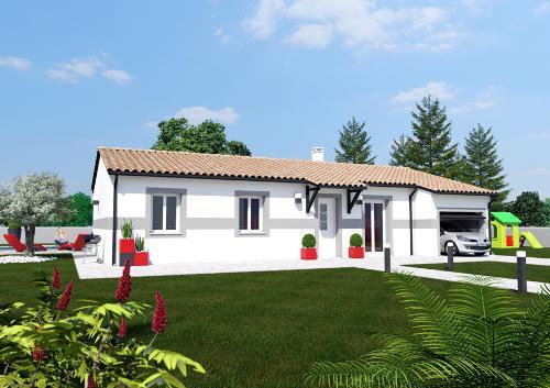 Maisons du constructeur ESQUISS BEAUZELLE • 96 m² • SAINT PAUL SUR SAVE