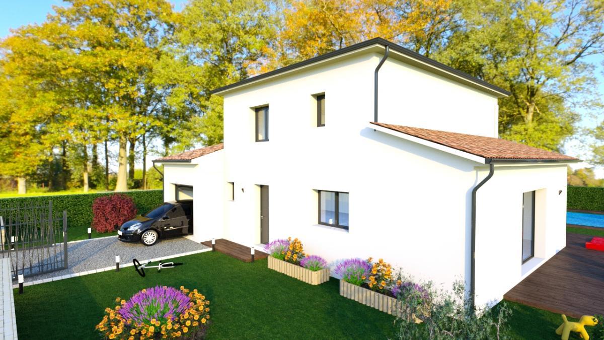 Maisons du constructeur ESQUISS BEAUZELLE • 120 m² • BEAUZELLE