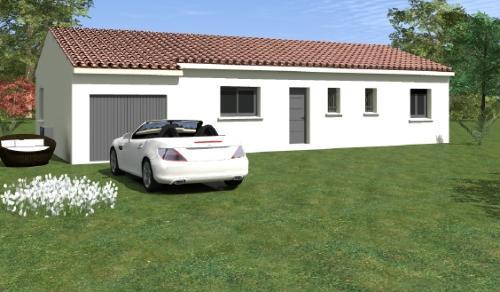 Maisons du constructeur ESQUISS BEAUZELLE • 100 m² • GRENADE