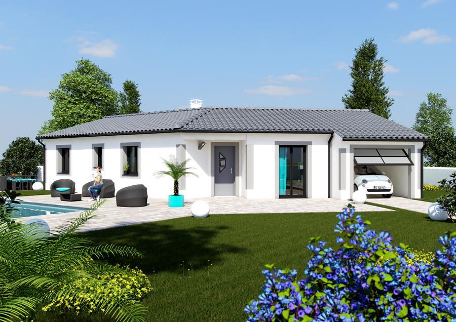 Maisons du constructeur ESQUISS BEAUZELLE • 110 m² • DAUX