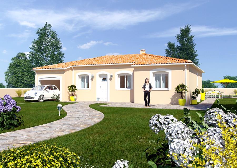 Maisons du constructeur ESQUISS BEAUZELLE • 115 m² • MERVILLE