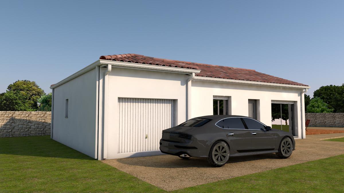 Terrains du constructeur ESQUISS BEAUZELLE • 350 m² • CASTANET TOLOSAN